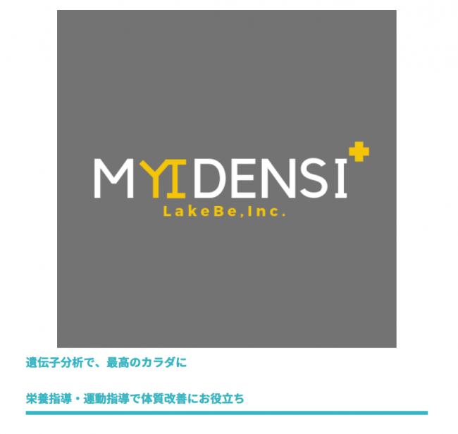 MYDENSIレポートの表紙