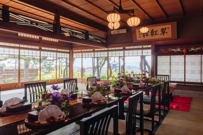 「山荘 京大和」翠紅館広間イメージ