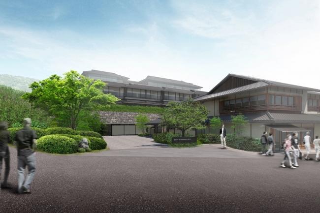 「パーク ハイアット 京都」外観イメージ