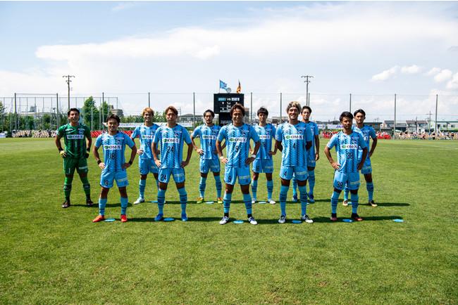 F.C.大阪スターティングメンバー(Photo:小中村政一)
