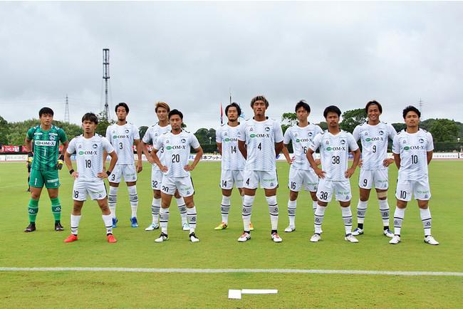 F.C.大阪スターティングメンバー(Photo:週刊ひがしおおさか)