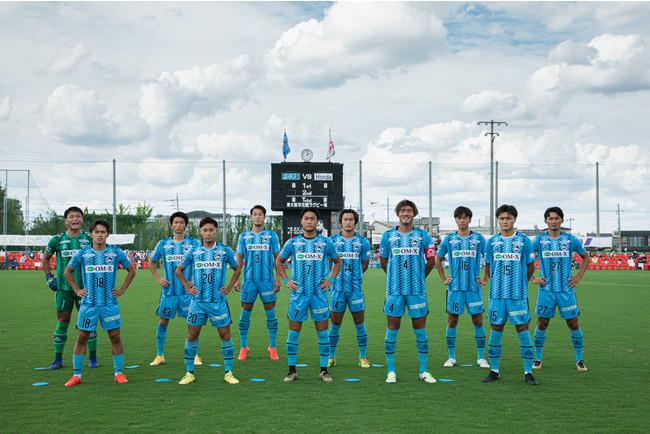 F.C.大阪スターティングメンバー(Photo:宮西 範直)