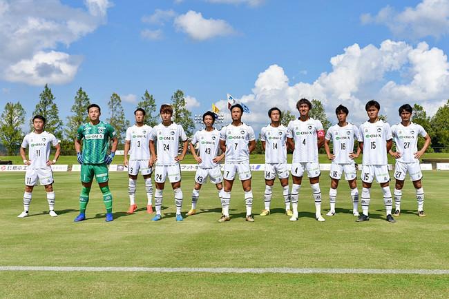 F.C.大阪スターティングメンバー