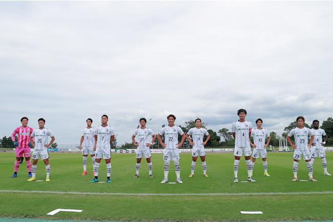 F.C.大阪スターティングメンバー(Photo:山田直輝)