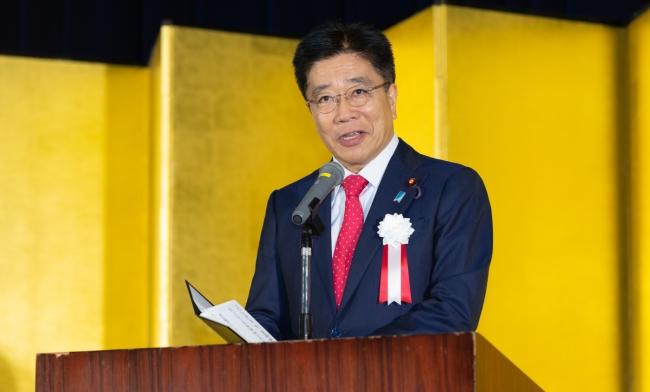 開会の挨拶 加藤厚生労働大臣