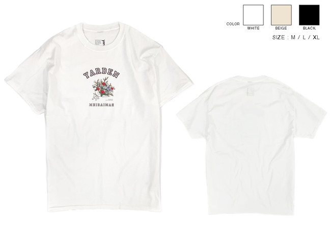 ▲bouquet T shirt_¥4,950(税込)_size M.L.X
