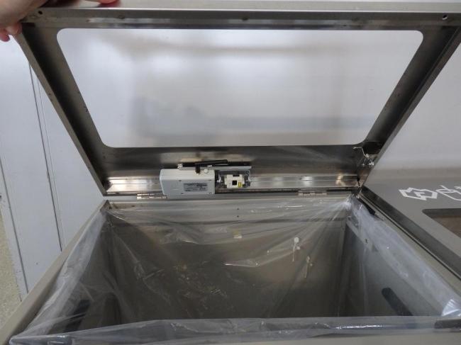 ゴミ箱センサー
