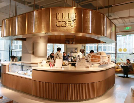 ELLE cafe 上海 内装イメージ