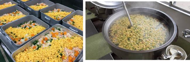 彩りゆたかな七夕ご飯と素麺