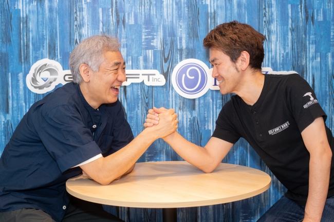 左:ジークラフト代表土田俊郎氏、右:RingZero代表根本英明