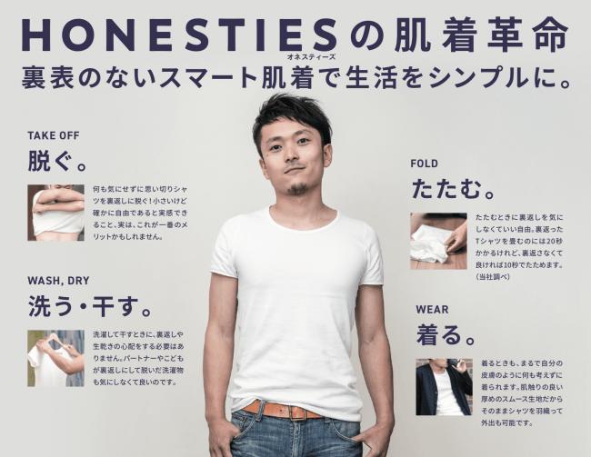 <『Honesties(オネスティーズ)』ビジュアルイメージ><『Honesties(オネスティーズ)』ビジュアルイメージ>