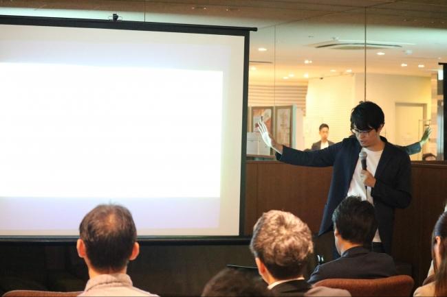 代表取締役副社長・北見より第9期の振り返りが報告される