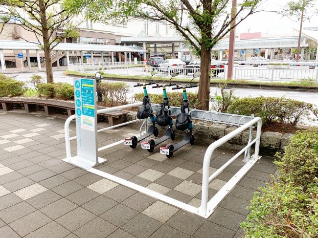 海浜幕張駅周辺の3ヶ所のステーション