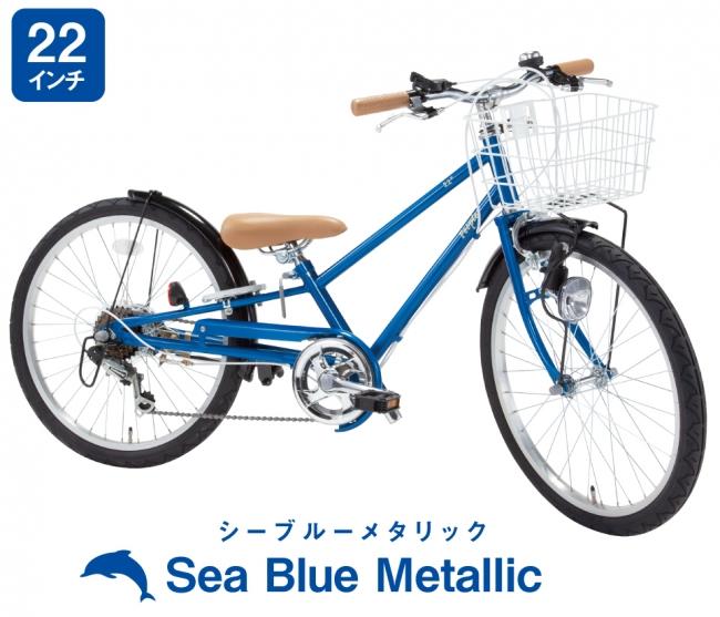 ダイヤモンドフレームを採用したSea Blue Metallic
