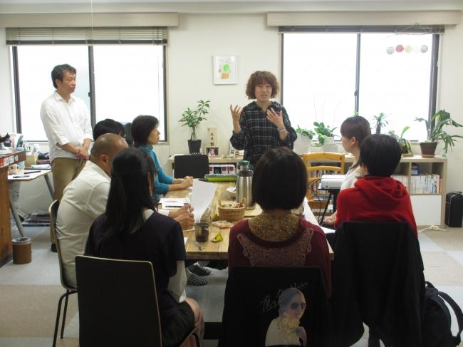 奥村講師による発声学の講義