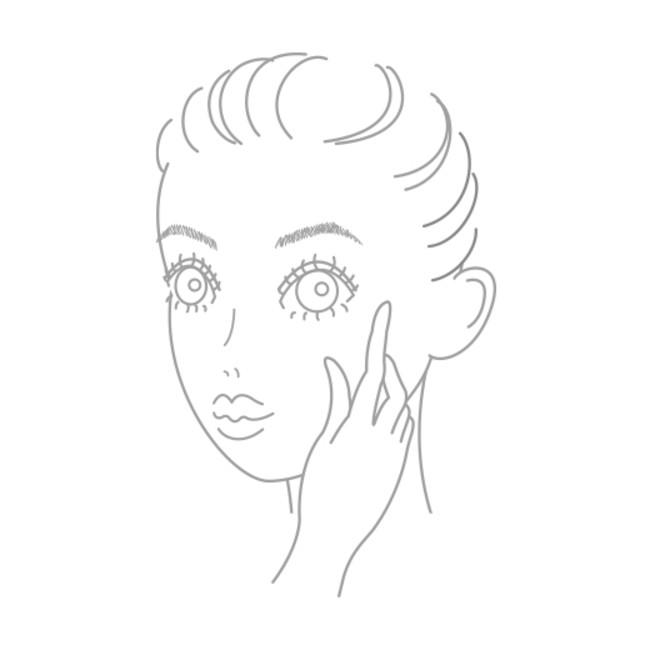 気になる部分には重ねづけを。 その後化粧水やクリーム等を ご使用ください。