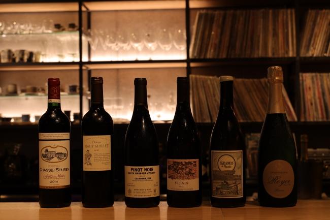 様々なグラスワインをご用意してます
