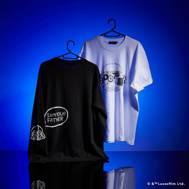 BARNEYS NEW YORK ロングスリーブTシャツ ¥9,000 ショートスリーブTシャツ ¥7,000 ※12月6日(金)より六本木店・オンラインストアにて、12月13日(金)以降各店展開予定