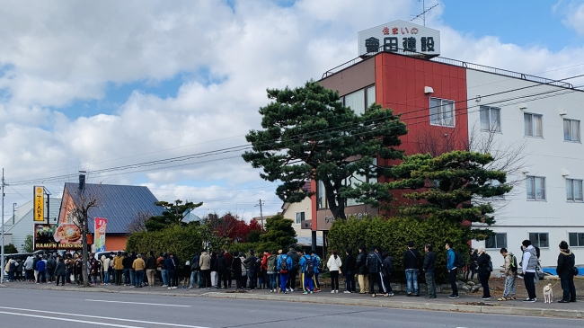 北海道・旭川「ラーメン大戦争」満を持して21日グランドオープン!