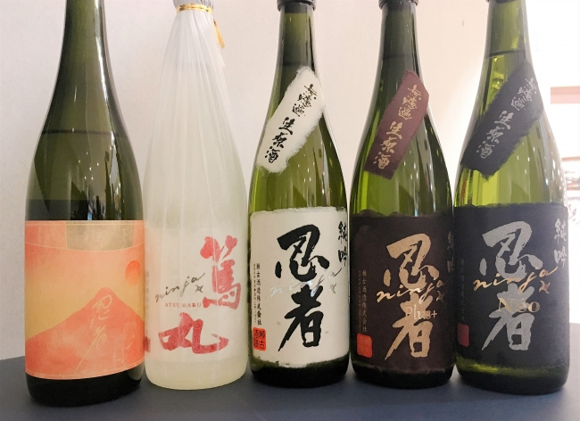 瀬古酒造の醸す人気日本酒「忍者」専用オンラインストアOPEN|瀬古酒造 ...