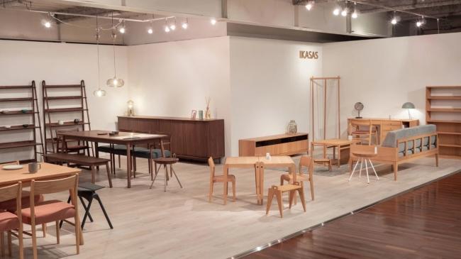 ※モーブルの福岡本社ショールーム内にもIKASAS OKAWA SHOWROOMを開設しました