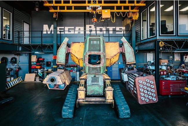 人が操縦できる全長4.5mの巨大ロボット