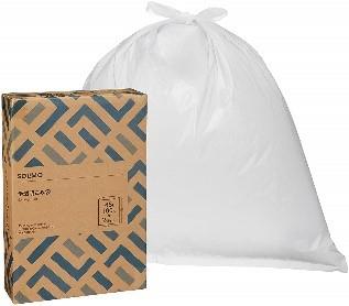 SOLIMO ごみ袋 半透明 45L 100枚 x2個セット