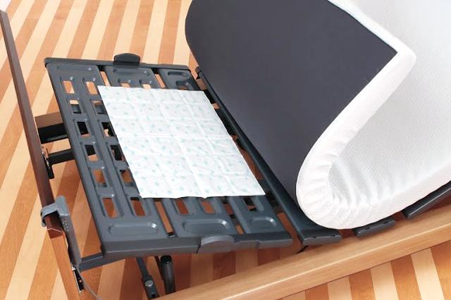 ベッドやふとんの下にシートを敷くだけ