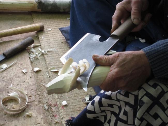 約千二百年の歴史「笹野一刀彫」