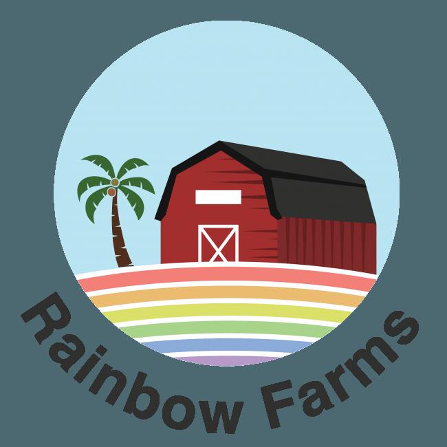 RainbowFarmsロゴ