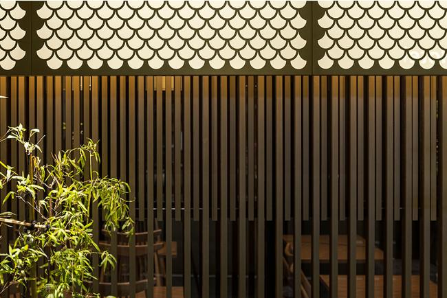 木虫籠を表現した装飾