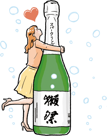塚田農場 宴会早割特典 獺祭スパークリングプレゼントイメージ