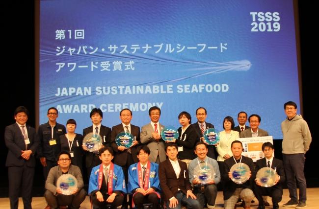 前列 着座右から3番目と4番目が当社事業責任者 横澤・花島