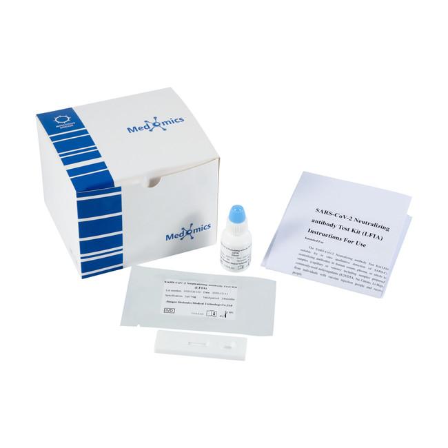 Medomix社製「新型コロナウイルス中和抗体検査キット(LFIA)」