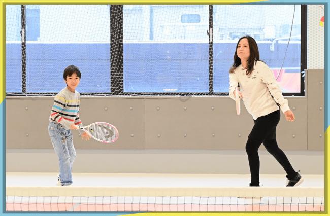 家族でスポーツ!