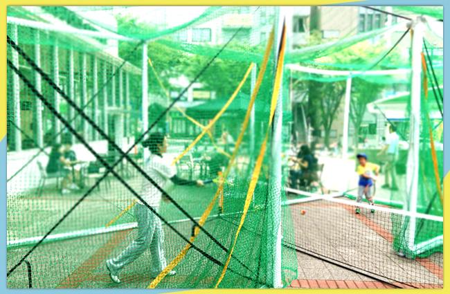 錦糸町PARCO前でイージーテニスが体験できる!(※写真はイメージです)