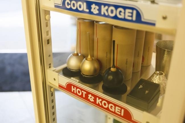 プチ改造した冷蔵庫型什器