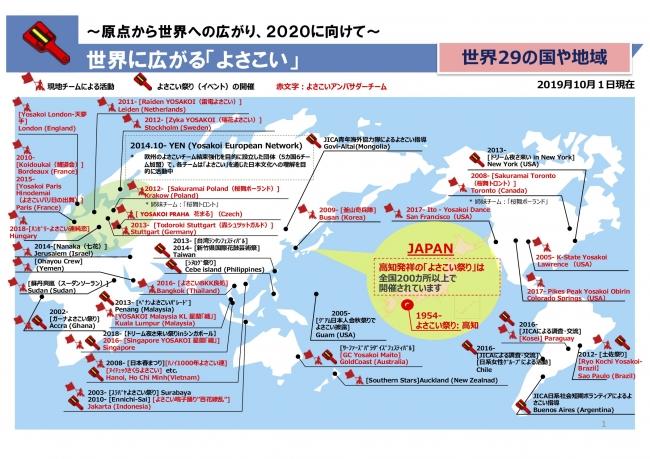 2020を「YOSAKOI」で盛り上げよう!|高知県庁のプレスリリース