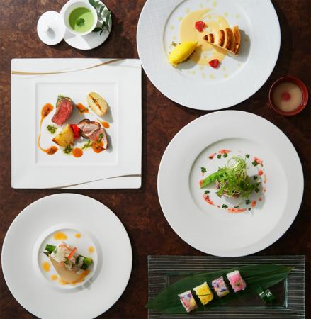八芳園の婚礼料理「しゅんかしゅうとう」