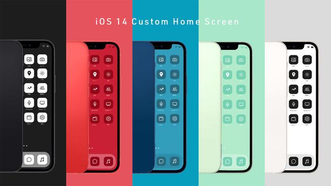 iPhoneのホーム画面をカスタマイズできる「Nomad iCon」をリリース ...