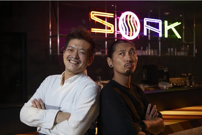 左:長屋シェフ、右:永島シェフ