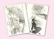 複製原稿セット(2枚組)4種 ヴァンパイア騎士 各2000円+税