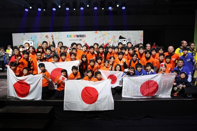 WRO2019ハンガリー国際大会 日本代表選手団