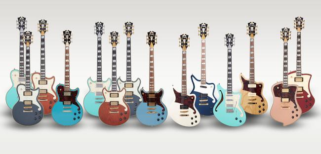 クラシックなルックスに現代的なアプローチで開発されたディアンジェリコのエレクトリック・ギター
