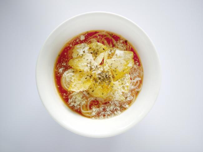 トマトスープそうめん