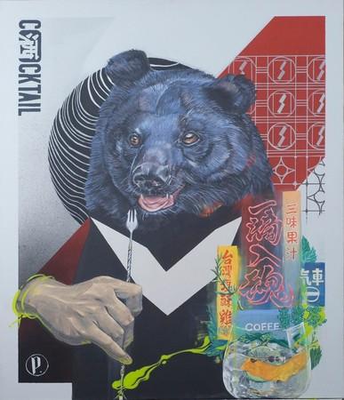 台湾固有の動物をモチーフにした作品