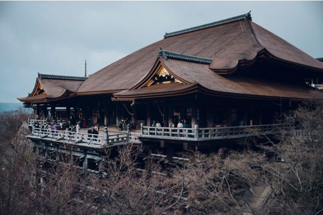 約11年の修復工事を終えた清水寺