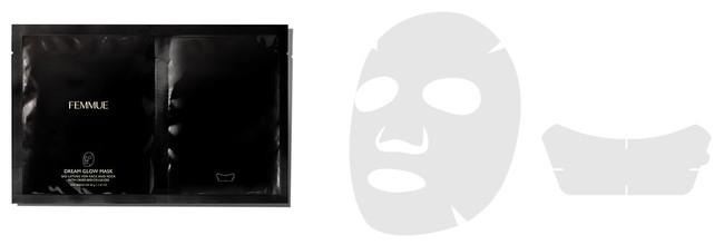 <ファミュ>ドリームグロウマスク BL(4枚入り) 4,620円■タカシマヤ ゲートタワーモール 3階 メイクアップキッチン