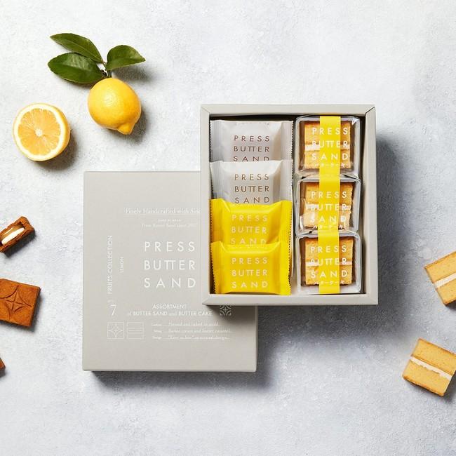 <プレスバターサンド> バターケーキ詰合せ 檸檬 (3種・7個入) 2,160円