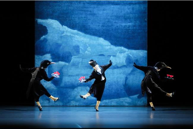 『ペンギン・カフェ』より 撮影:長谷川清徳